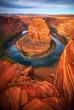 Hufeisen bei Arizona USA lizenzfreie stockbilder