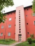 Hufeisen Siedlung in Berlijn Stock Afbeelding