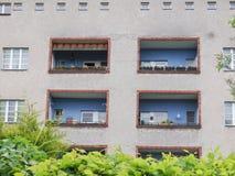 Hufeisen Siedlung in Berlijn royalty-vrije stock afbeeldingen