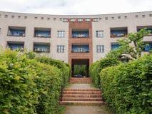 Hufeisen Siedlung in Berlijn Royalty-vrije Stock Foto's