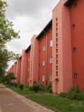 Hufeisen Siedlung en Berlín imagenes de archivo