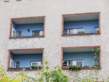Hufeisen Siedlung i Berlin Royaltyfria Foton