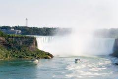 Hufeisenfälle von Niagara Falls Stockbild