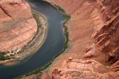 Hufeisenschlaufe, Arizona Lizenzfreie Stockbilder