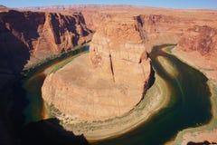 Hufeisenschlaufe, Arizona Lizenzfreies Stockbild