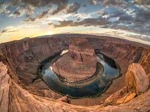 Hufeisenschlaufe, Arizona Stockfoto