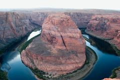 Hufeisenschlaufe Kolorado Lizenzfreies Stockfoto