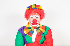 Huffy clown Stock Image