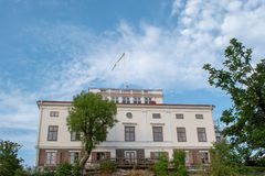 Hufvudsta gÃ¥rd w Solna zarządzie miasta, Sztokholm, Szwecja obraz royalty free