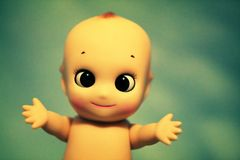 hug куклы Стоковое фото RF