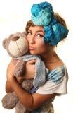 hug медведя Стоковые Фото