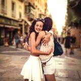 hug Fotografia Stock Libera da Diritti