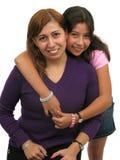 Hug da família Fotos de Stock