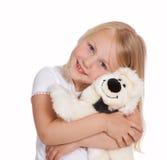 Hug do animal de estimação Imagens de Stock