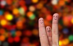 Hug do dedo imagem de stock royalty free