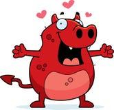 Hug do diabo ilustração do vetor