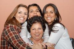 Hug moment royalty free stock image