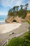 Hug Point State Park in Oregon Royalty Free Stock Photography