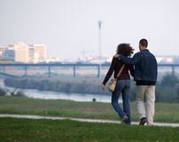 The Hug Walk At Promenade Stock Photos