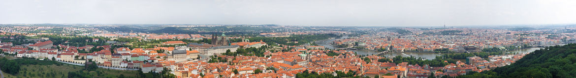 Free Huge 360 Panorama Of Prague Stock Photos - 25011293