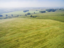 Huge agricultural fields Stock Image