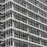 Huge amount of scaffolding Royalty Free Stock Photo