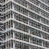 Huge amount of scaffolding Royalty Free Stock Photo