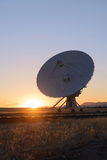 Huge antenna dish at Very Large Array Royalty Free Stock Photography