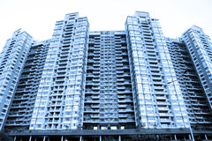 Huge apartment building Royalty Free Stock Photography
