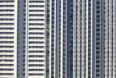 Huge apartment building Royalty Free Stock Photos