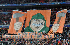 Huge banner of Shakhtar Stock Images