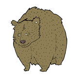 Huge bear cartoon Royalty Free Stock Image