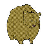 huge bear comic cartoon Royalty Free Stock Photography