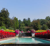 Huge beautiful park-garden, Villa Taranto Royalty Free Stock Photography