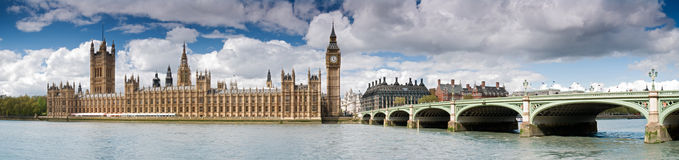 HUGE-Big Ben and Westminster stock photos