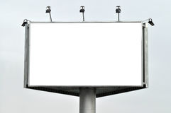 Huge billboard with clear space Stock Photos