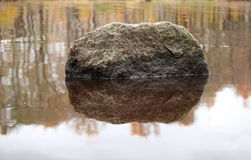 Huge boulder Stock Photography