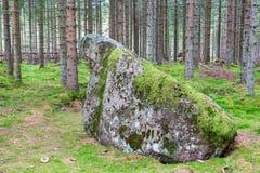 Huge boulder Royalty Free Stock Images