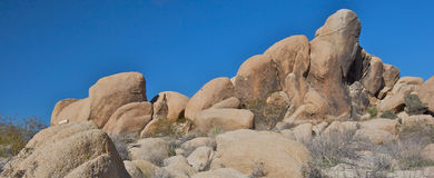 Huge Boulders Royalty Free Stock Photography