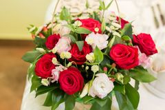 Huge bouquet of flowers Stock Photo