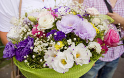 Huge bouquet of flowers Royalty Free Stock Image