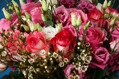 Huge bouquet of roses Stock Photography