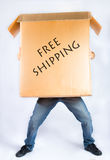 Huge box Royalty Free Stock Images