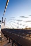 Huge bridge, saturated landmark view Royalty Free Stock Photos