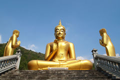 Huge Buddha Stock Photography