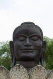 Huge buddha head Royalty Free Stock Photography