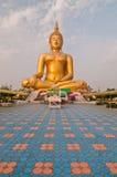 Huge Buddha image stock photography
