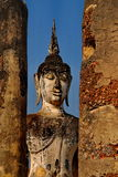 Huge Buddha Statue sukhothai national park Stock Photos