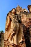 Huge buddha statue Sukhothai national park Stock Images