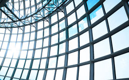 Huge building windows. Lattice composed of Huge building windows royalty free stock photos